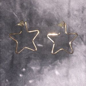 Brandy Melville Star Earrings